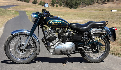 Carberry Enfield Double Barrel V-Twin